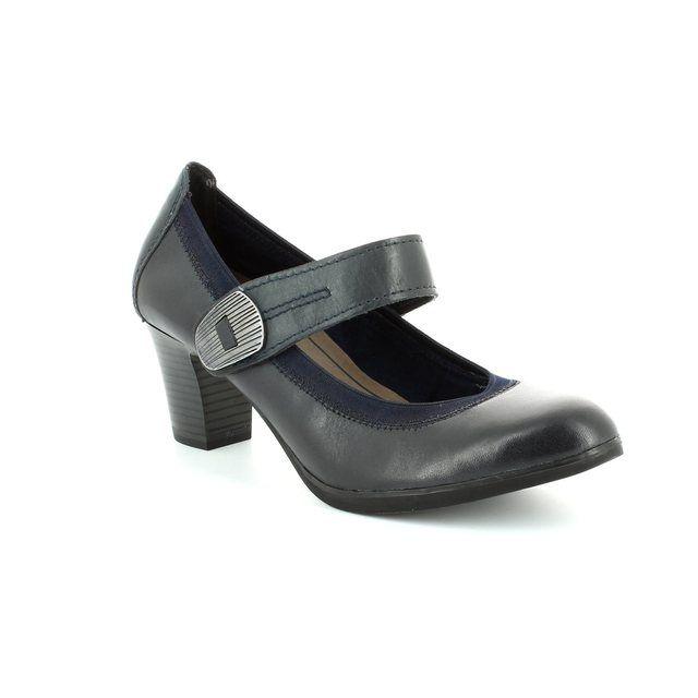 Marco Tozzi Heeled Shoes - Navy - 24420/892 GRESTABAR