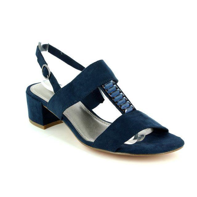 Marco Tozzi Hecho 28202-805 Navy sandals