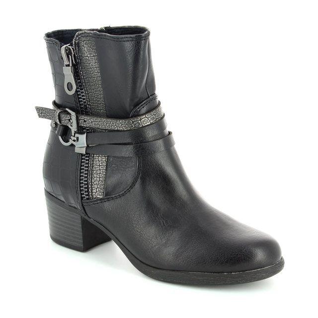 Marco Tozzi Lagoni 25304-096 Black multi ankle boots