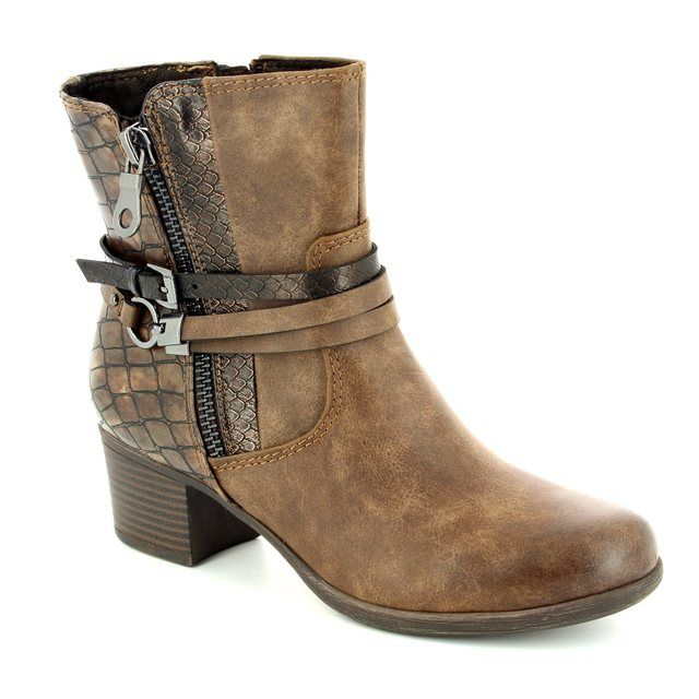 Marco Tozzi Lagoni 25304-358 Brown multi ankle boots