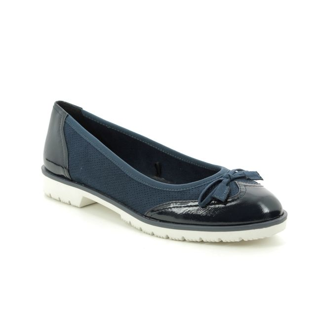 Marco Tozzi Pumps And Ballerinas - Navy - 22116/24/890 LINARI 01