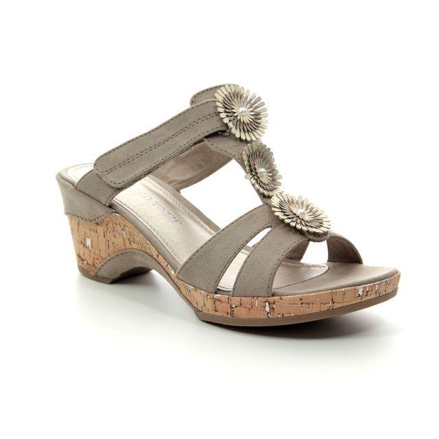 Marco Tozzi Wedge Sandals - Taupe - 27213/22/344 LOZIM  91