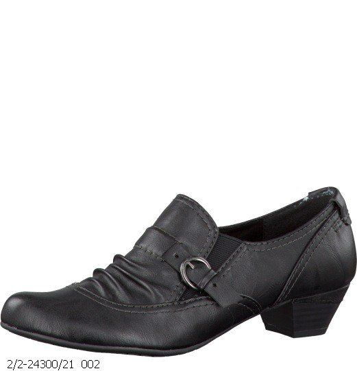 Marco Tozzi Missing 24300-002 Black lacing shoes