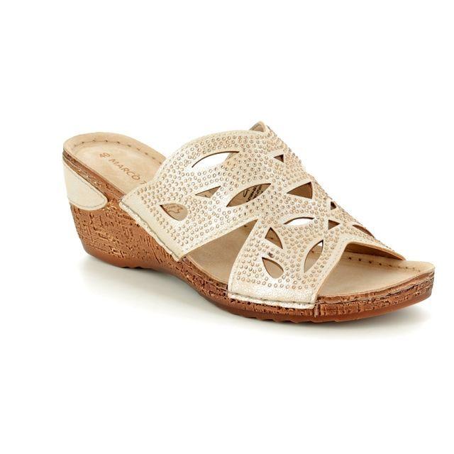 Marco Tozzi Wedge Sandals - Gold - 27504/20/960 MORIA