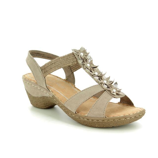 7036130f6c86 Marco Tozzi Lozim 27213-20-341 Taupe Wedge Sandals