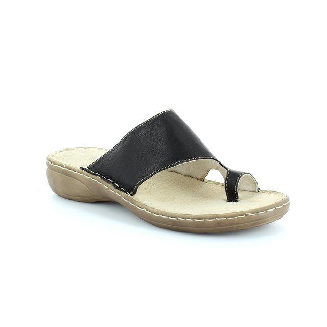 Marco Tozzi Ocetto 27900-001 Black sandals