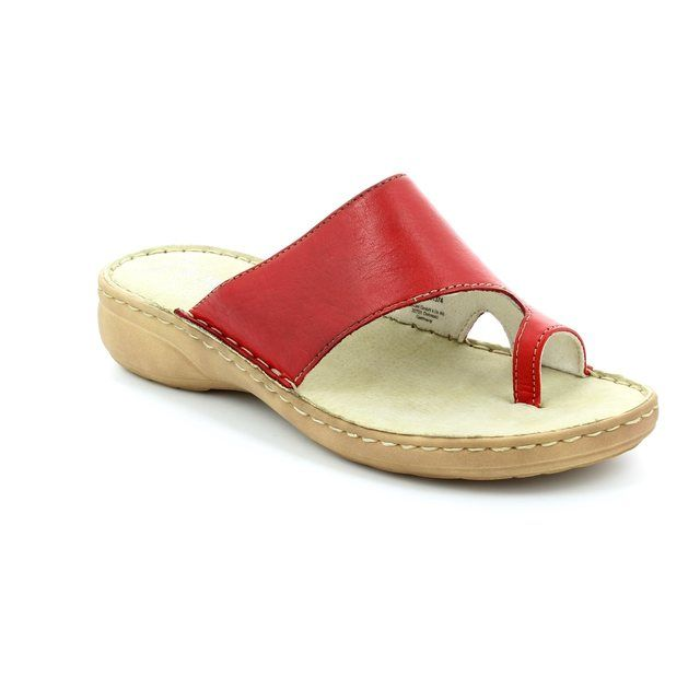 Marco Tozzi Ocetto 27900-533 Red sandals