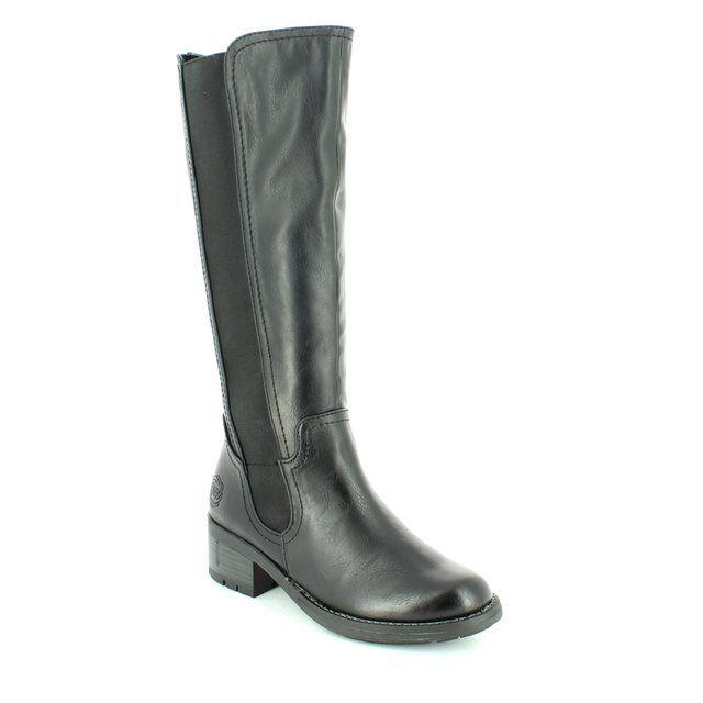 Marco Tozzi Ornari 25615-096 Black long boots