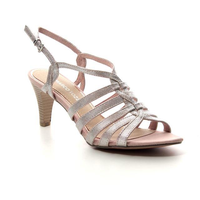 Marco Tozzi Paduli 91 28321-22-592 Rose Heeled Sandals