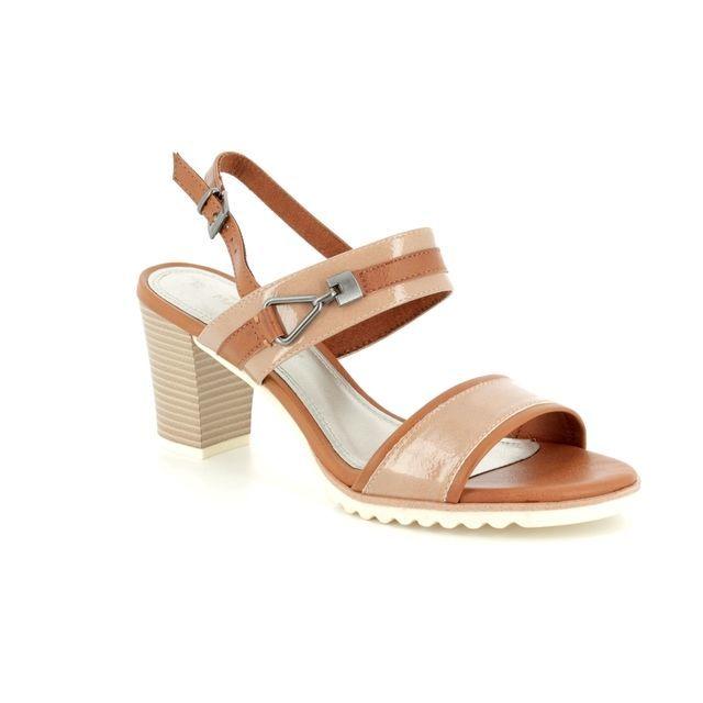 Marco Tozzi Heeled Sandals - Taupe multi - 28704/20/640 PADUMI 81