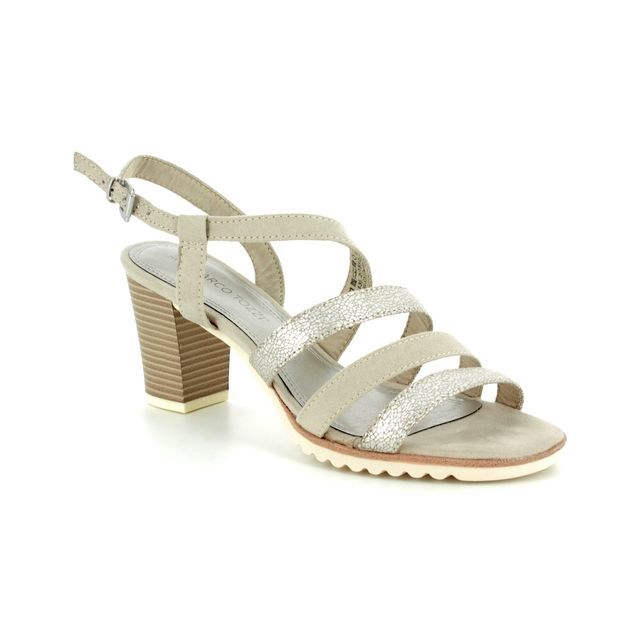 Marco Tozzi Heeled Sandals - Beige multi - 28705/20/435 PADUSA