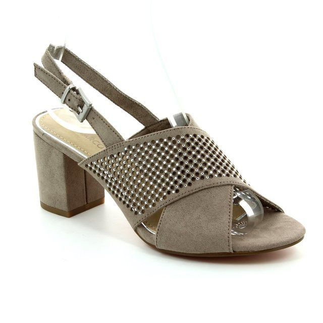 Marco Tozzi High-heeled Shoes - Taupe - 28311/341 PADUSI
