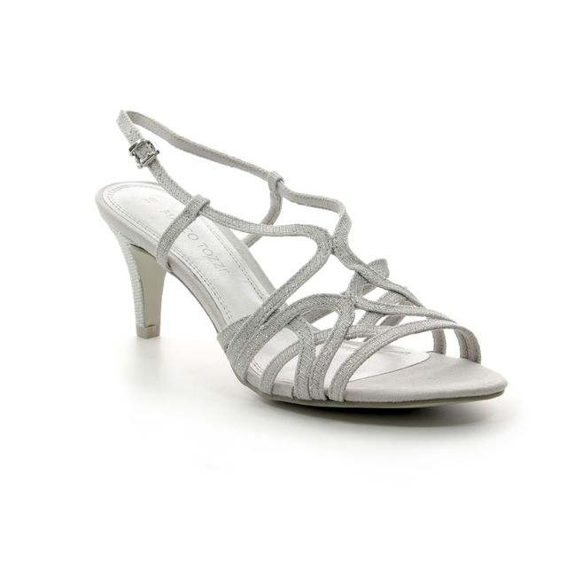 Marco Tozzi Heeled Sandals - Silver - 28328/22/941 PADUSTRA
