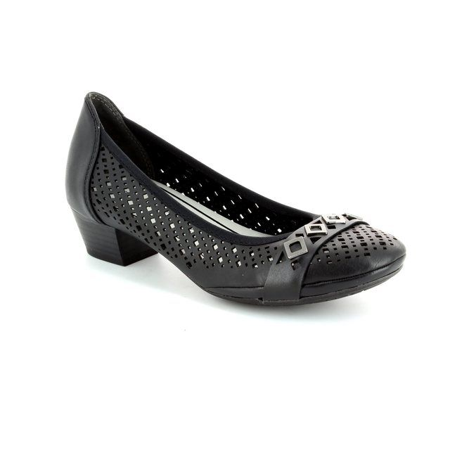 Marco Tozzi Heeled Shoes - Black - 22505/002 PAVOPERF