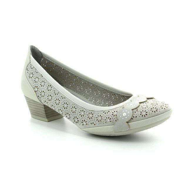 Marco Tozzi Heeled Shoes - Light grey - 22505/20/248 PAVOPERF 81