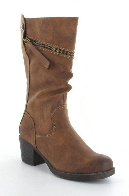 Marco Tozzi Peliz 25400-340 Brown long boots