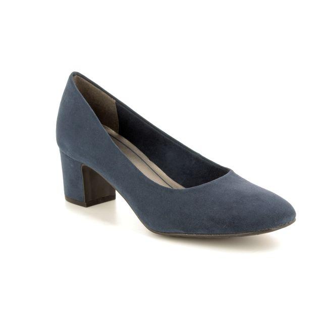 Marco Tozzi Heeled Shoes - Navy - 22426/30/824 PERI 81
