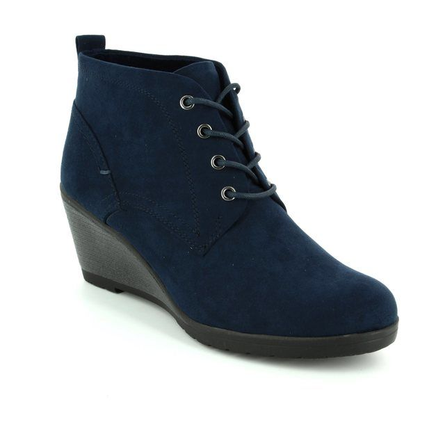 Marco Tozzi Ranco 72 25111-805 Navy ankle boots