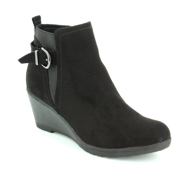 Marco Tozzi Rancos 25042-001 Black ankle boots