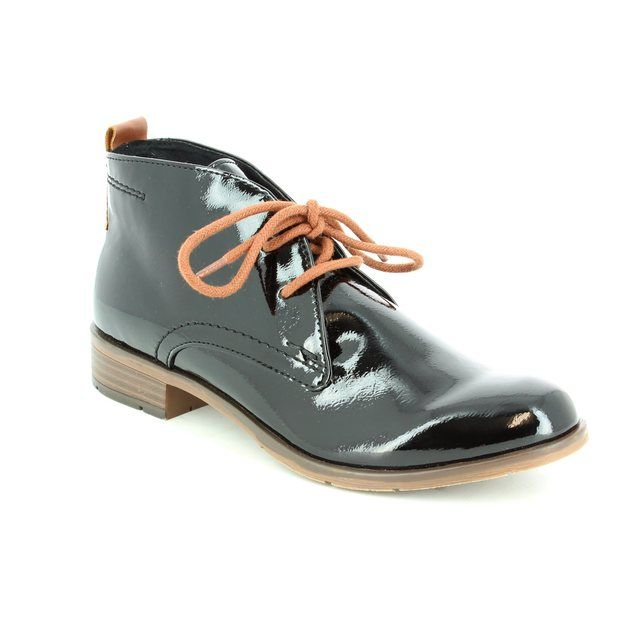 Marco Tozzi Ankle Boots - Black patent - 25118/098 RAPALL
