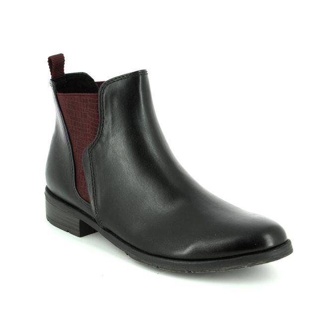 Marco Tozzi Chelsea Boots - Black - 25040/096 RAPALL CHELSEA