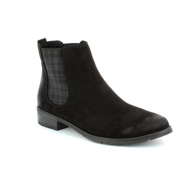 Marco Tozzi Rapalli 25321-991 Black ankle boots