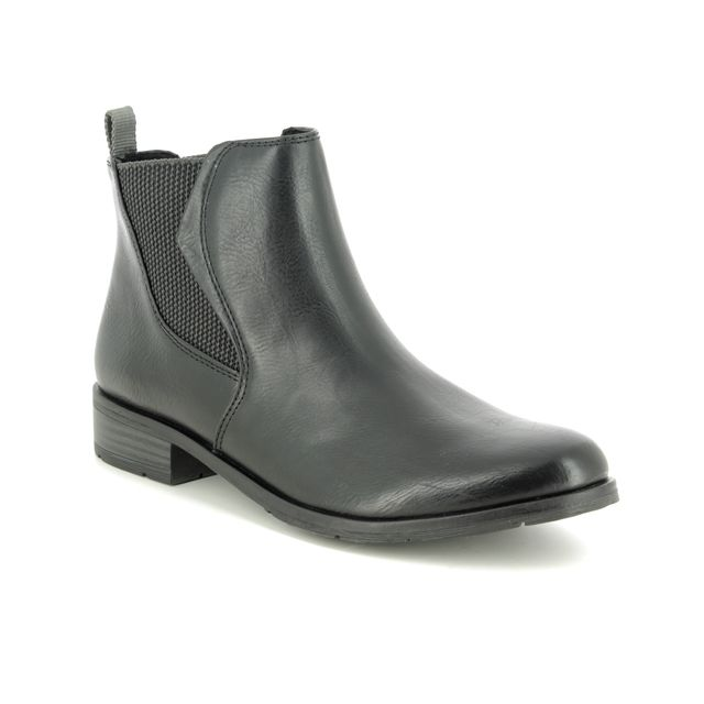 Marco Tozzi Rapallil 25040-33-002 Black Chelsea Boots