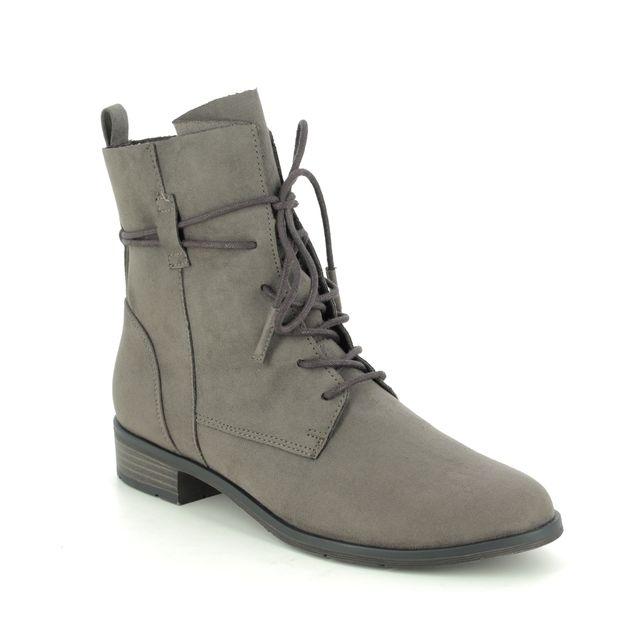 Marco Tozzi Lace Up Boots - Grey - 25112/35/324 RAPASTRUT