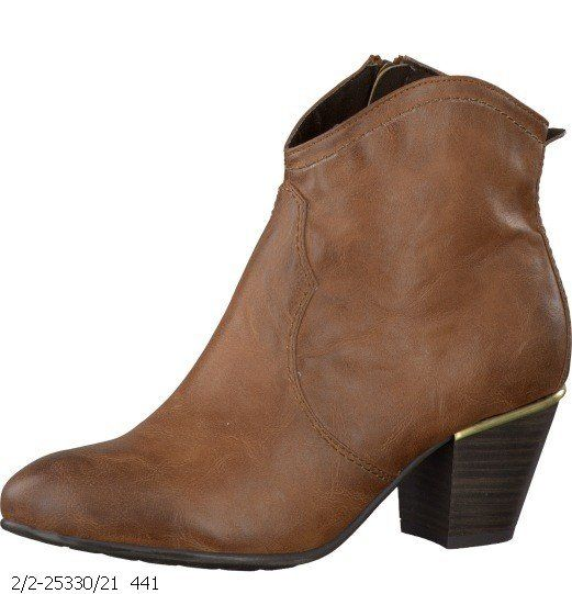 Marco Tozzi Rodeo 25330-441 Tan ankle boots