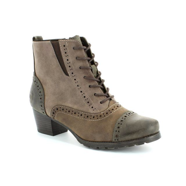 Marco Tozzi Rosabro 25123-322 Taupe multi ankle boots