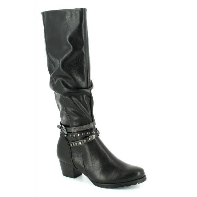 Marco Tozzi Knee-high Boots - Black - 25504/096 ROSALONG