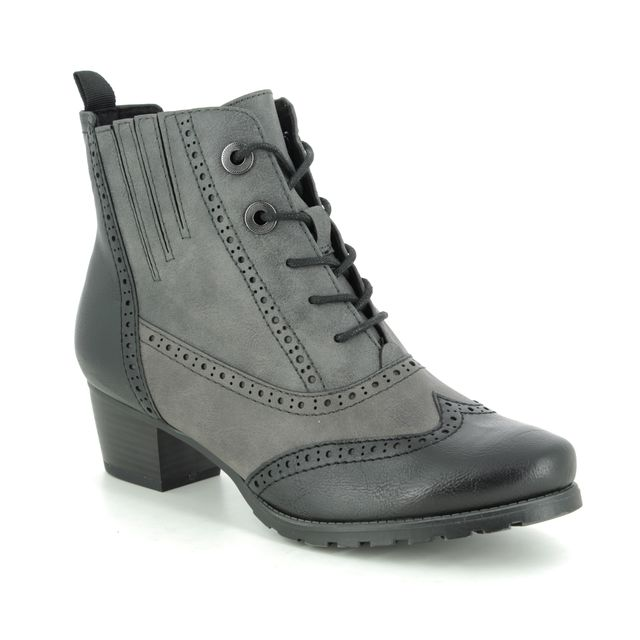 Marco Tozzi Ankle Boots - Dark Grey - 25123/23/226 ROSANLACE 95