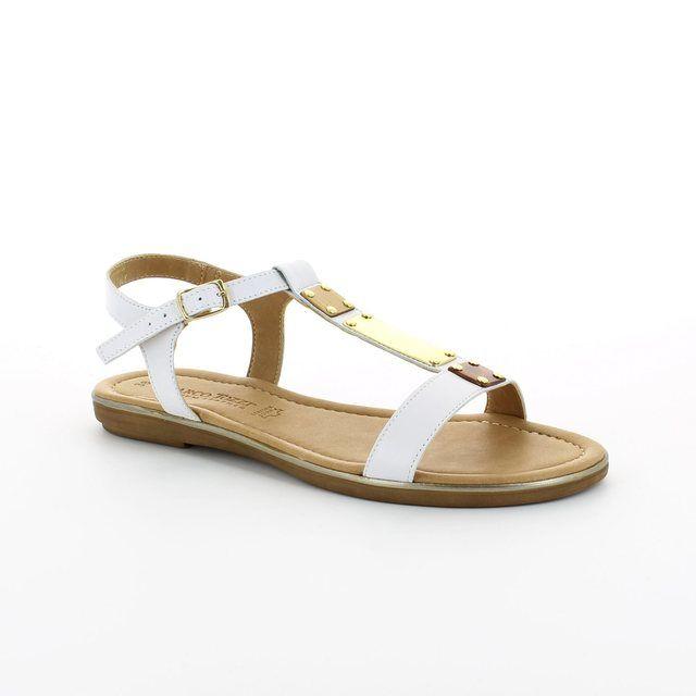 Marco Tozzi Ruta 28161-100 White sandals