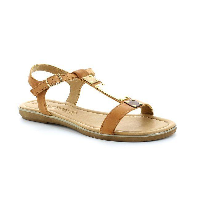 Marco Tozzi Ruta 28161-305 Tan sandals
