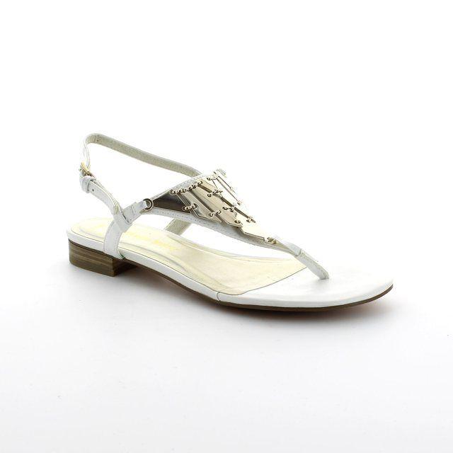 Marco Tozzi Scaro 28121-100 White sandals