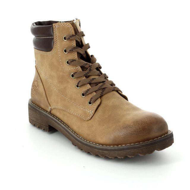 Marco Tozzi Sestino 26230-681 Tan ankle boots