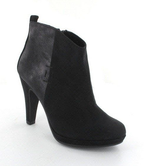 Marco Tozzi Taggi 45 25363-001 Black suede ankle boots