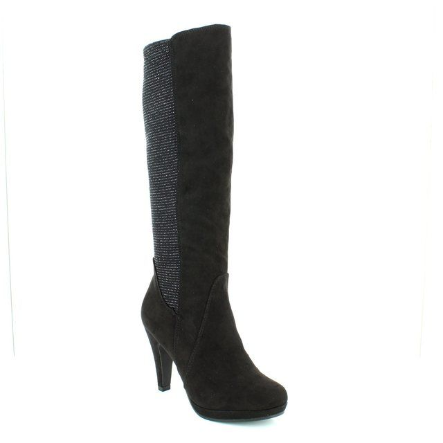Marco Tozzi Knee-high Boots - Black - 25503/098 TAGGILO
