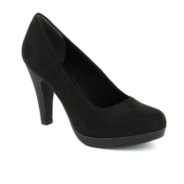 Marco Tozzi High-heeled Shoes - Black suede - 22441/098 TAGGISPA