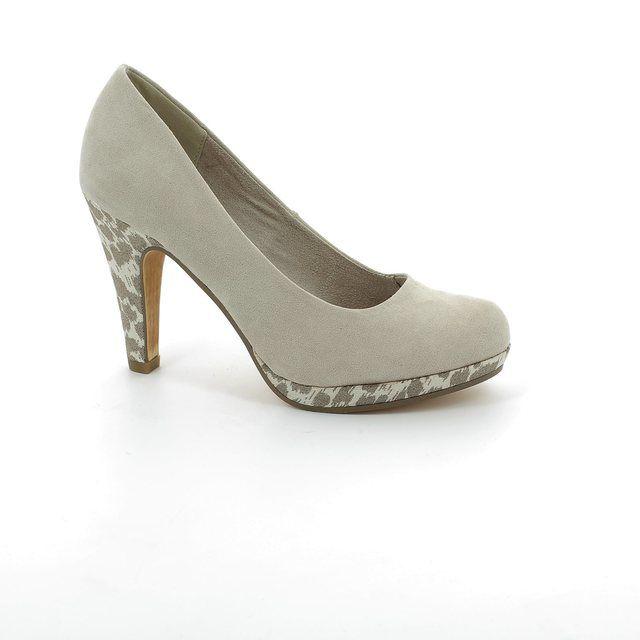 Marco Tozzi Taggispa 22441-435 Beige multi high-heeled shoes