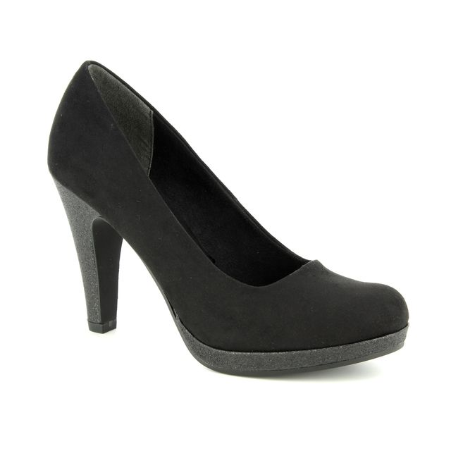 Marco Tozzi High-heeled Shoes - Black suede - 22441/31/098 TAGGISPA 85