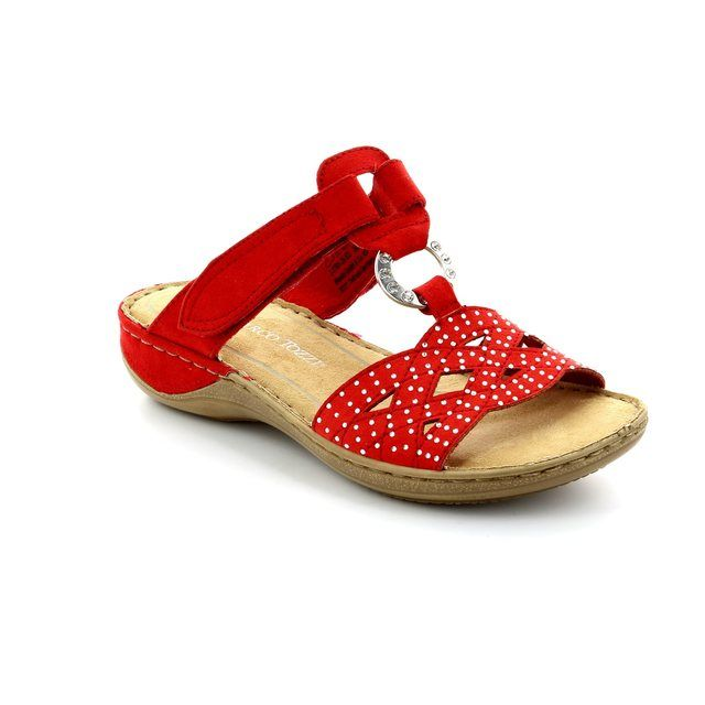 Marco Tozzi Tangovel 61 27501-533 Red sandals
