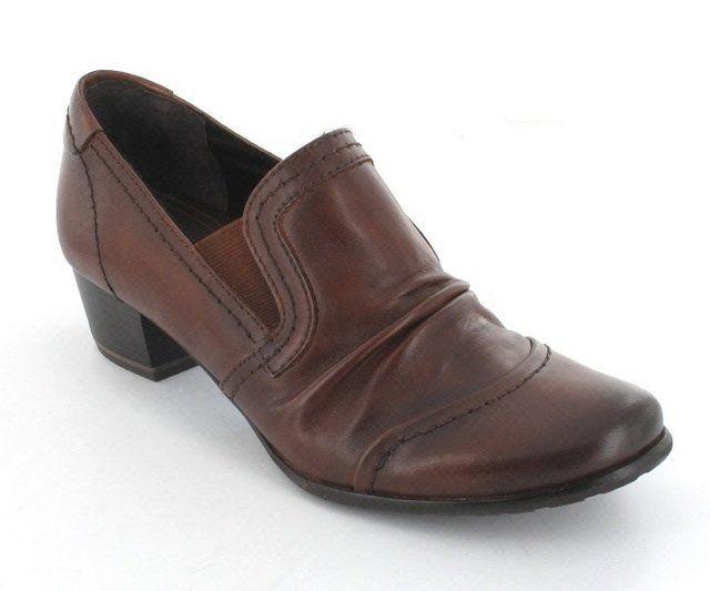 Marco Tozzi Vasco 24303-340 Tan shoe-boots