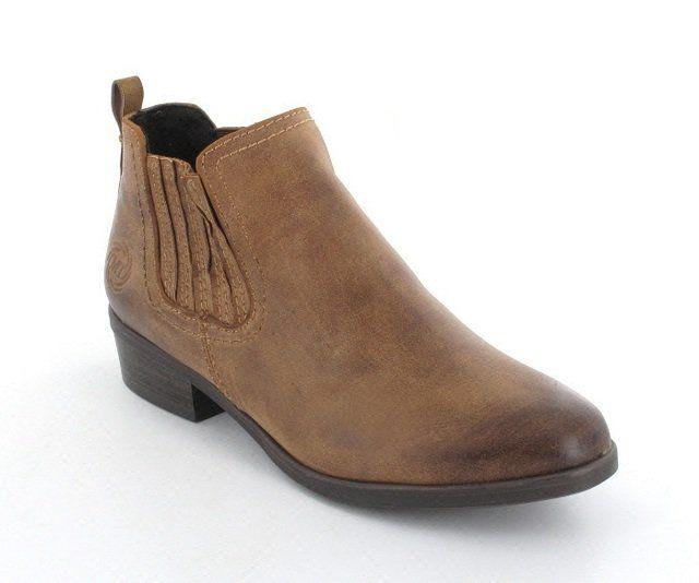 Marco Tozzi Zara 25326-340 Tan ankle boots