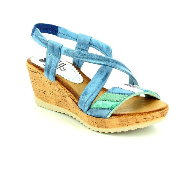 Marila Sandals - Denim multi - 712 35 25 CORCAZ 3533