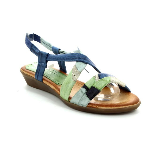 Marila Inca 71 156 IN -25 Blue multi sandals
