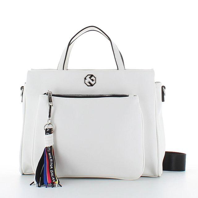Marina Galanti Mondovi 90HG2-66 White handbag