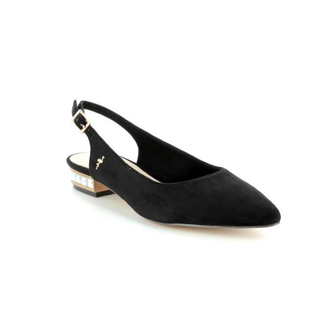 Menbur Heeled Shoes - Black - 09571/01 CALAMIA