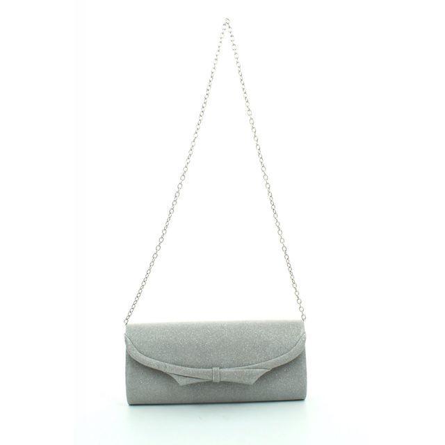 Menbur Matching Handbag - Silver - 84233/09 PUERTO BAG