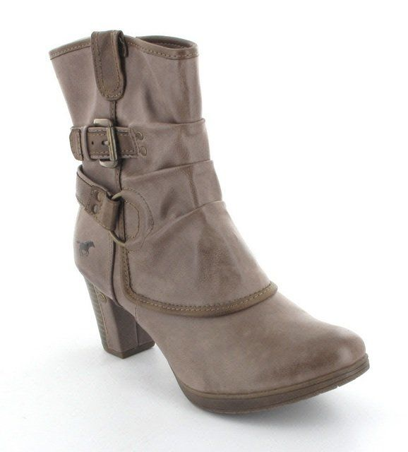 Menbur Spats 1142506-308 Taupe ankle boots